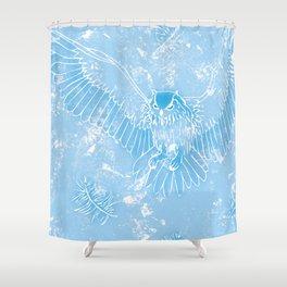 A Mild Breeze (Baby Blue) Shower Curtain
