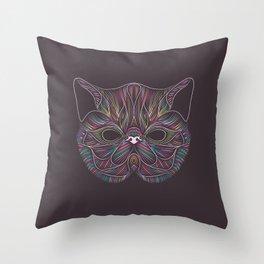 Cat#3 - Exotic Shorthair Throw Pillow