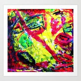 """Me-Without God"" Art Print"