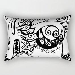 Fu Dog Rectangular Pillow