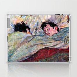 """Henri de Toulouse-Lautrec """"The Bed"""" Laptop & iPad Skin"""