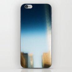 smudged skyline iPhone & iPod Skin