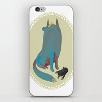 dog iPhone & iPod Skins featuring dog by yohan sacre