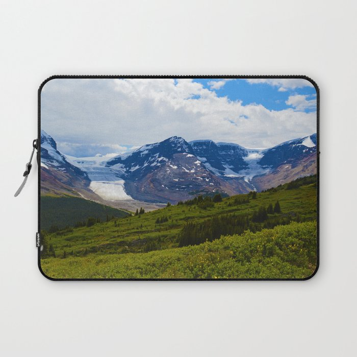 View along the Wilcox Pass Hike in Jasper National Park, Canada Laptop Sleeve
