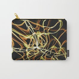 Hearts of Gold Warped Carry-All Pouch