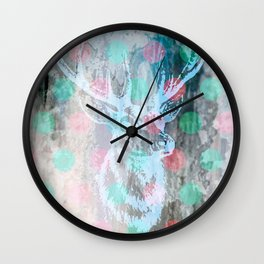 DEER + KARLA Wall Clock