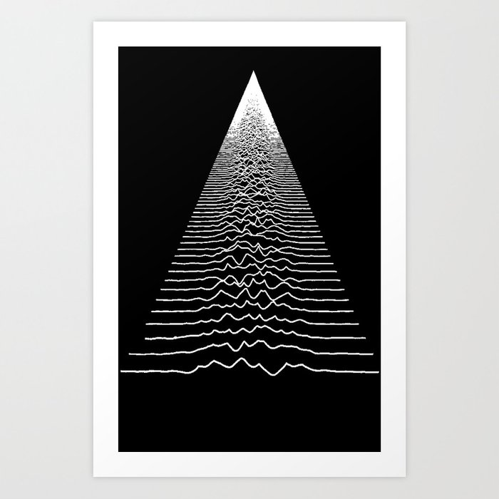 Wave Form Art Print
