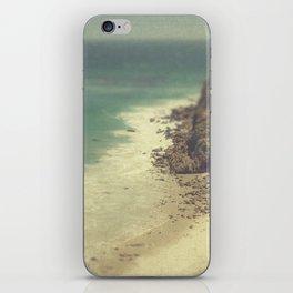 Vintage Malibu Beach iPhone Skin