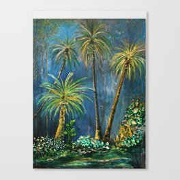 Paradise Palms Canvas Print