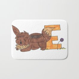 E is for Evee Bath Mat