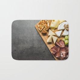 Cheese Plate Bath Mat