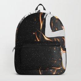 I'm burning into you. Backpack