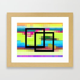 Time and Place Framed Art Print