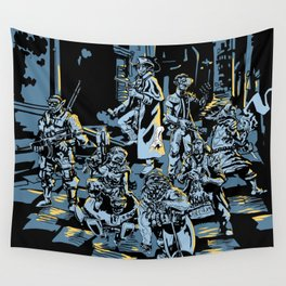 These Colors Don't Shadowrun Wall Tapestry