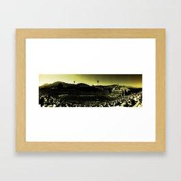 Folsom Field Framed Art Print