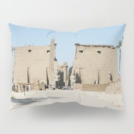 Temple of Luxor, no. 11 Pillow Sham