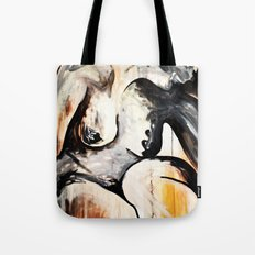 Black Tears Tote Bag