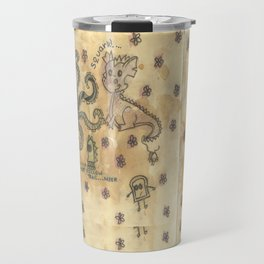 Silly Octopus Travel Mug