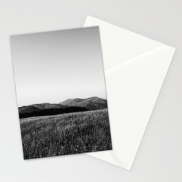 Mountain line Stationery Cards