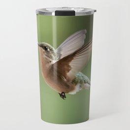 A little hummingbird love Travel Mug