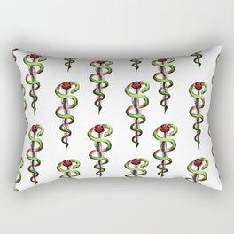 Rod of Asclepius Rectangular Pillow