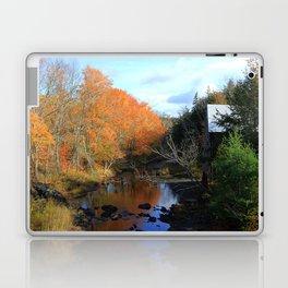 Autumn Reflections Grist Mill Laptop & iPad Skin