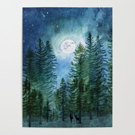 Silent Forest Poster
