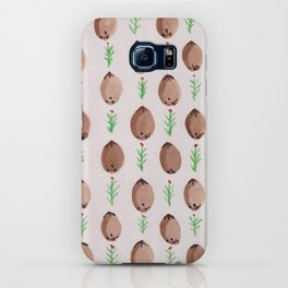 Coconut and Flower Pattern iPhone Case