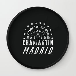 Madrid Football Ground Wall Clock