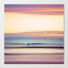 Pastel Horizons Canvas Print