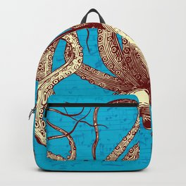 Vintage Octopus Music Sheet Backpack