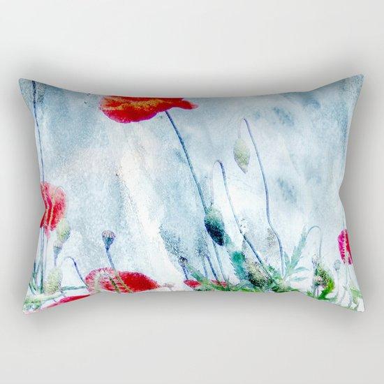 Poppy Love III Rectangular Pillow