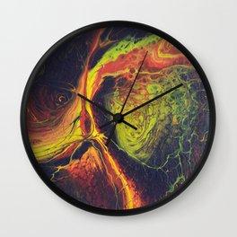 Сosmic whirlwind Wall Clock