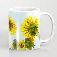 dandelion Mugs featuring Dandelion by Falko Follert Art-FF77