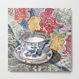 Teacup 2 Metal Print