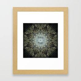 Believe in Magic Framed Art Print