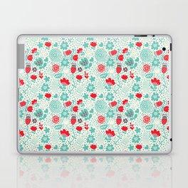 Floral owls Laptop & iPad Skin