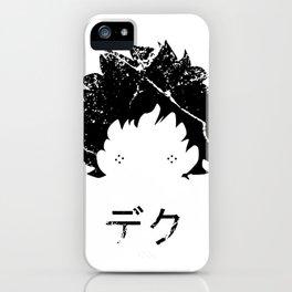 Deku Japanese iPhone Case