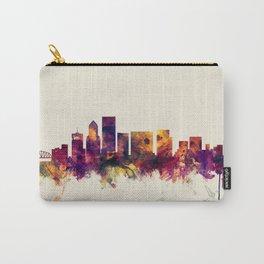 Portland Oregon Skyline Carry-All Pouch