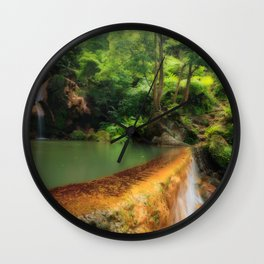 Thermal pool in Azores Wall Clock