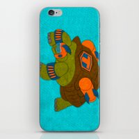 tortoise iPhone & iPod Skins featuring Tortoise by subpatch