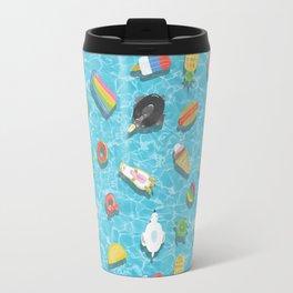 Pool floaties Travel Mug