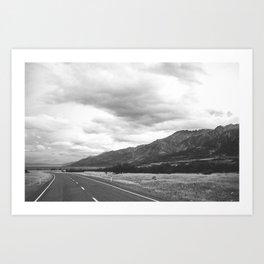 //03-12 MOUNT COOK ROAD Art Print