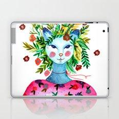Miss Lady Cat Laptop & iPad Skin