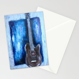 in the pocket (guitar on blues) Stationery Cards