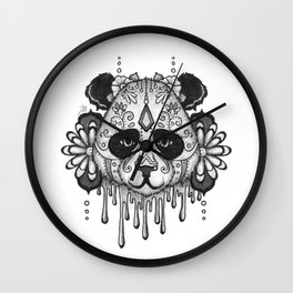 Blacksilver Panda Spirit Wall Clock