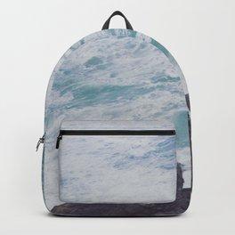 Blue Ocean - Seals on Rocks Backpack
