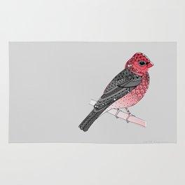 Scarlet Rosefinch Rug