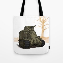 Lee_(WWII COMBAT VEHICLES (USA) Tote Bag