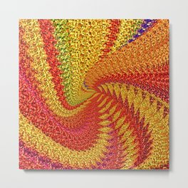 Party-Party.Pointillism.Recursion Metal Print